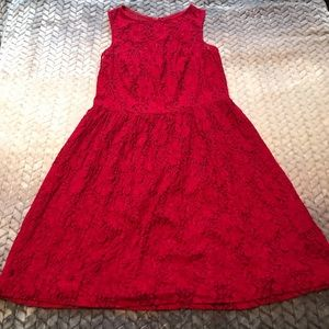2/$18 Kensie Red Dress